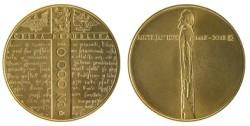 Zlatá mince Jan Hus
