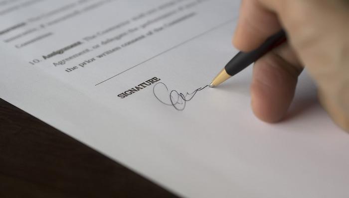 podpis půjčka