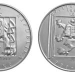 ČNB vydává pamětní minci k 25. výročí 17. listopadu 1989